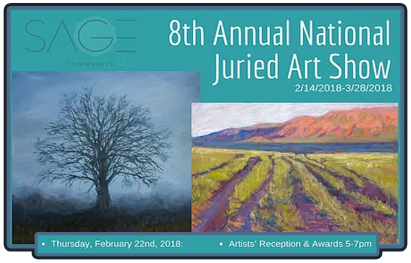 8th annual Sage Juried show